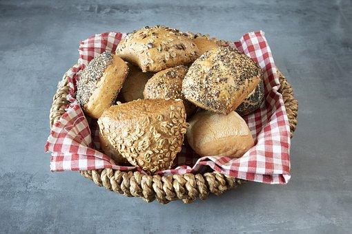 Bread Rolls, Bread, Breakfast