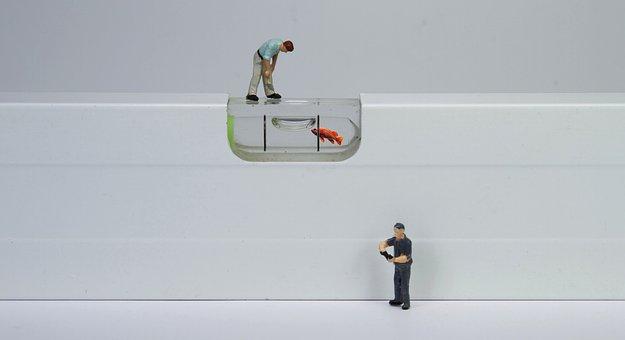 Craft, Water Balance, Miniature Figures, Precision