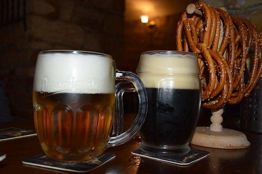Beer, Prague, Czech Republic, Restaurant, Cozy, Drink