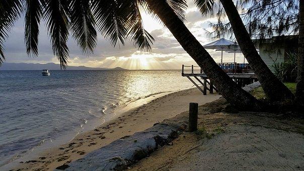 Fiji, South Sea, Vacations, Island, Beach, Travel