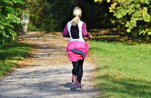 Jogger, Jog, Run, Sport, Fitness, Training, Woman, Fit