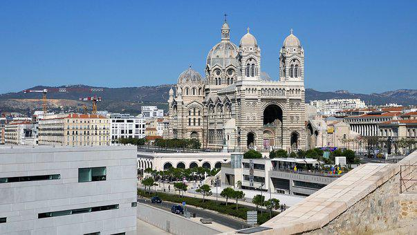 Cathédrale La Major, Marseille, France, Cathedral