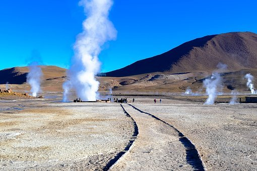 Geysers Del Tatio, Atacama, Chile