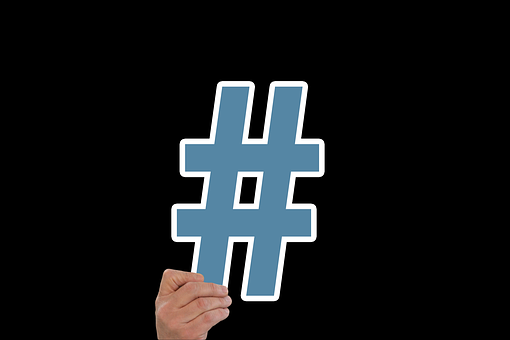 Hashtag, Kaufmann, Businessman, Man, Icon, Symbol, Hand