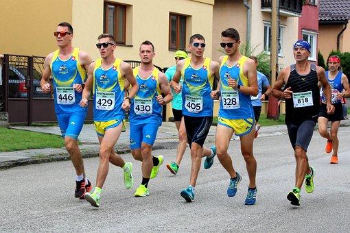 Sport, Marathon, Run, Team, Athletics, Health, Runners
