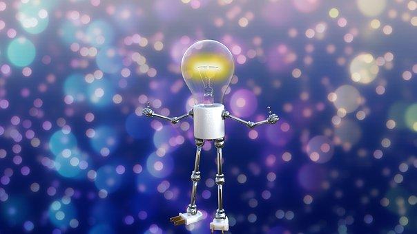 Light Bulb, Idea, Thought, Inspiration, Creative