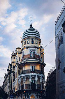 Tower, House, Mood, Light, Architecture, Building, Sky
