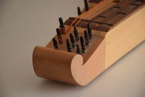 Zither, Musical Instrument, Music, Loop, Head, Sound