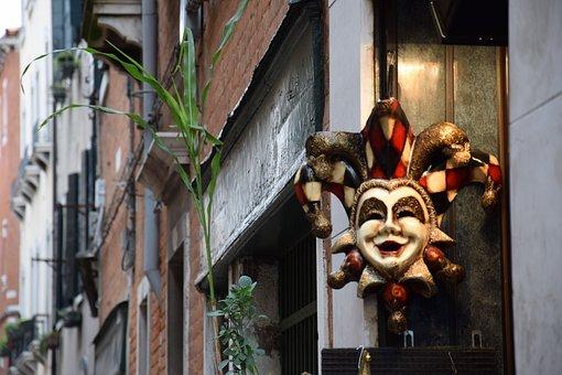 Venice, Mask, Street, Carnival, City, Traditions, Italy