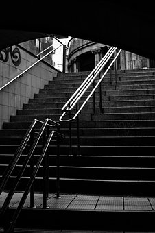 Metro, Barcelona, Station, Architecture, Displacements