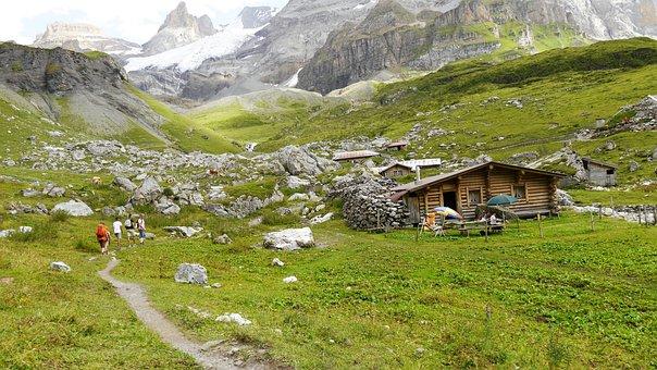 Switzerland, Swiss, Mountains, Landscape, Height