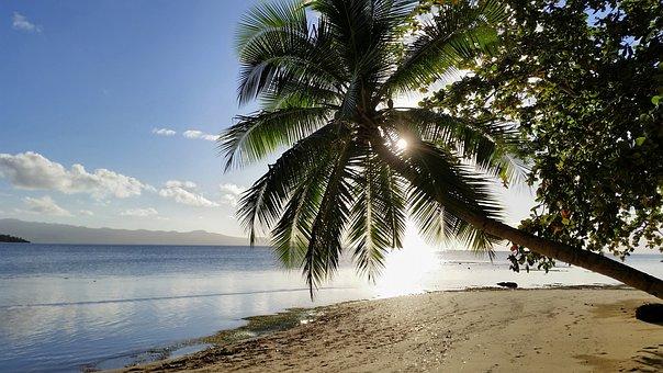 Fiji, Nature, Of The Fiji Islands, Beach, Sun, Clouds