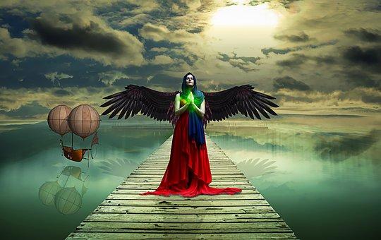 Woman, Priestess, Mystical, Fantasy, Female, Pray