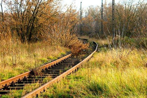 Railway, Rails, Route, Transport, Tracks, Abandoned