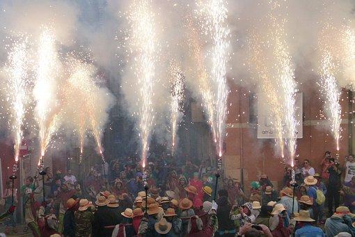 Tarragona, Diables, Correfoc, Santa Key, Seguici