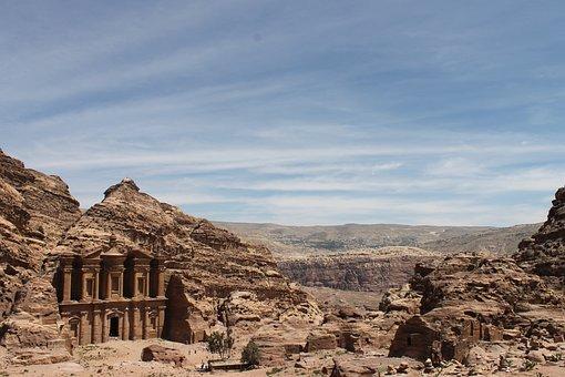 Petra, Jordan, Travel, World Heritage, Gorge, Vacations