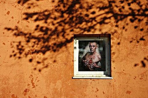 Wall, Window, Man, Anatomy, Person