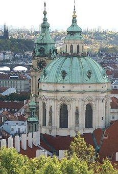 Prague, Church, Architecture, Sacred, Czech Republic