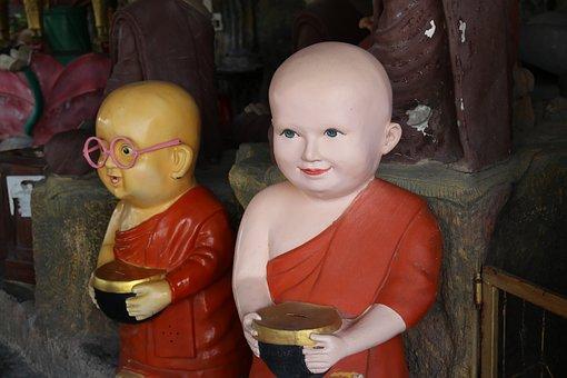 Thailand, Temple, Buddhism, Religion, Asia, Religious