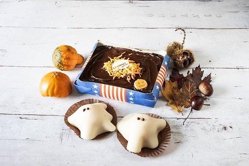 Ghost Cake, Cakes, Halloween