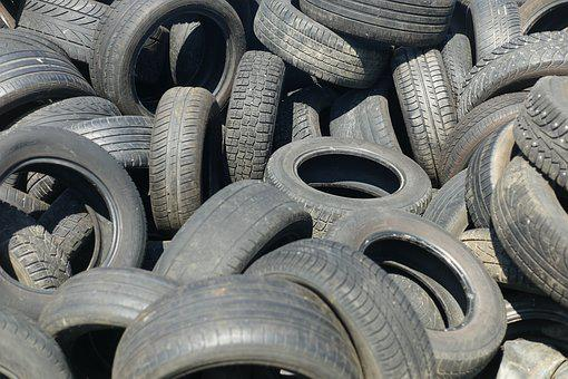 Tires, Car Tyres, Garbage, Recycling