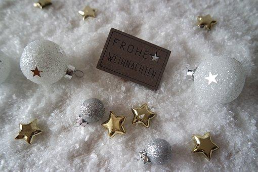 Christmas, Decoration, Winter, Christmas Greeting