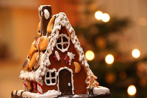 Christmas Celebration, Christmas, Gingerbread House