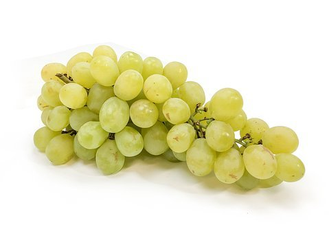 Grapes, Cotton, Candy, Green, Fruit