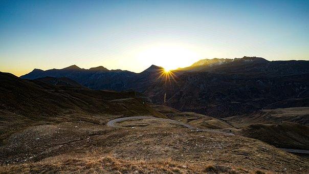Mountains, Grossglockner, Alpine Road, Austria