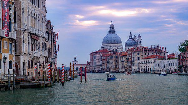 Venice, Italy, Holidays, Channel, Water, City