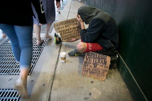 New York, Urban, City, Manhattan, Downtown, Homeless