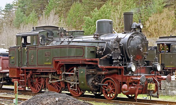 Steam Locomotive, Museum Locomotive, Prussian, T11