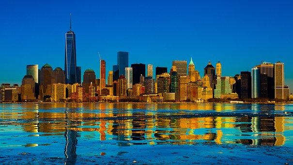 New-york, Manhatten, Building, Usa, Metropolitan