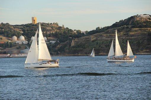 Boat, Candle, Rio, Mar, Ocean, Sailboat, Yacht, Lake