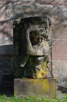 Sculpture, Art, Stone Figure, Monument, Historically