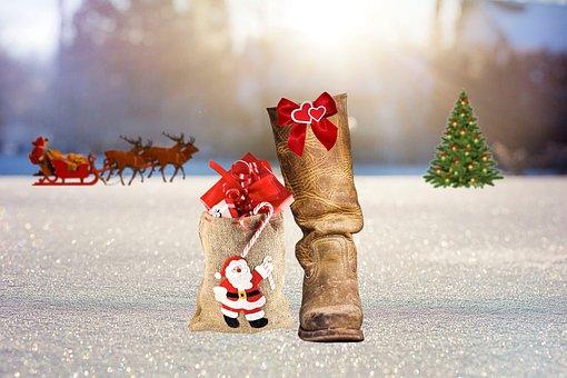 Nicholas, Nicholas Boots, Christmas, Snow