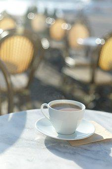 Café, Coffee, Coffee Mug, Outdoor Seating, Solar