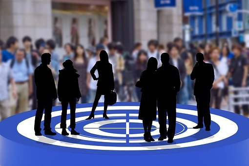 Target, Target Group, Personal, Selection, Silhouettes