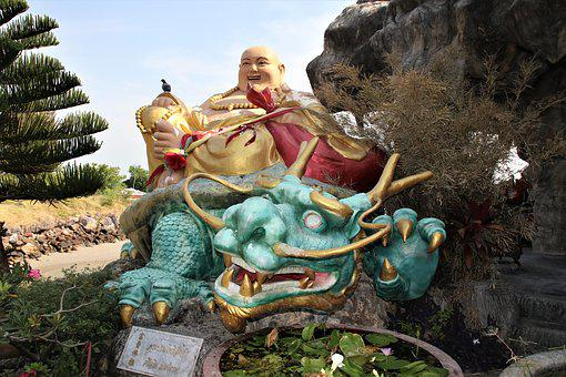 Thailand, Temple, Religion, Asia, Religious, Statue