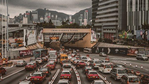 Hongkong, Streets, City, Urban, Tourist, Cityscape, Hk