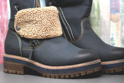 Winter Boots, Women Boots, Leather Boots, Warm, Fed