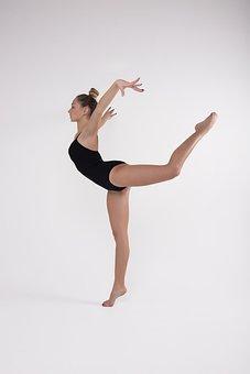Girl, Woman, Young, Beautiful, Gymnast, Flexible, Slim