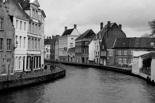 Belgium, Bruges, Historically, Building, Architecture