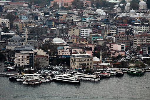 Landscape, Istanbul, Marine, Throat, Water, Blue, Boat