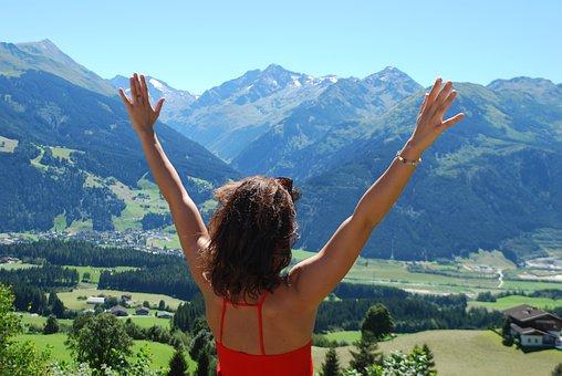 Nature, Travel, Freedom, Landscape, Summer, Blue, Sky
