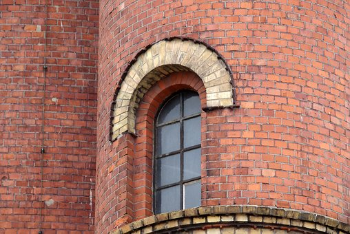 Window, Brick, Old, Building, Architecture, Facade