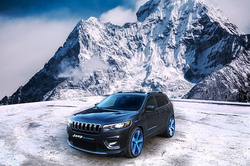 Car, 4x4, Jeep, Mountain, Cherokee, Montaineer, Mark