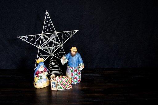 Nativity, Christmas, Star, Decoration, Mary, Joseph