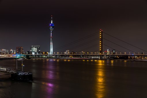 Historic Center, Investors, Bridge, Düsseldorf