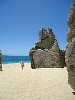 El Arco, Cabo, Mexico, Beach, Ocean Sky, Landscape